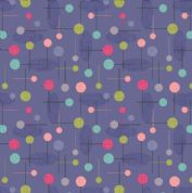 Lewis & Irene - Cocktail Party - 6539 - Cocktail Pins Geometric on Lavender - A353.3 - Cotton Fabric